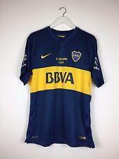 Boca Juniors CALLERI #27 2014 *EL CLASICO* MATCH PREPARED Football Shirt (XL)