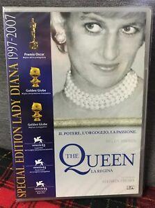 The Queen La Regina DVD Nuovo Sigillato Lady Diana Story Special Edition Frears