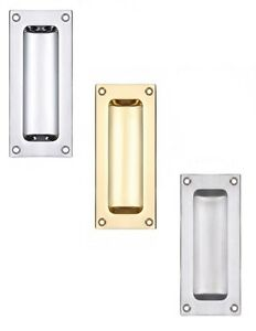 Zoo FB90 Recessed Flush Pocket Door Cabinet Pull Inset Sliding Door ...