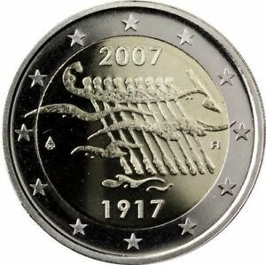 manueduc-2-EUROS-FINLANDIA-2007-CONMEMORATIVOS-90-Aniversario-INDEPENDENCIA