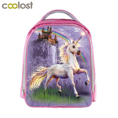 Unicorn Backpack For Girls Schoolbag Toddlers Cartoon Kindergarten Bag