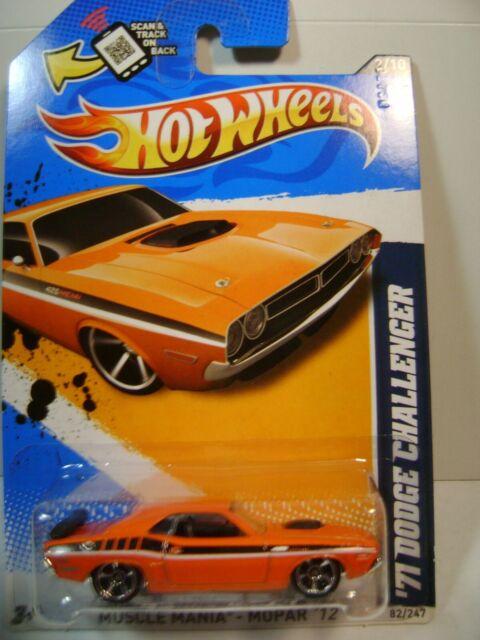 Hot Wheels /'69 DODGE CORONET SUPER BEE #84 Mopar '12 Orange Muscle Mania