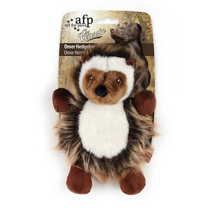 All-For-Paws-CLASSIC-OMAR-HEDGEHOG-Dog-Toy-Realistic-Squeaker-Eco-Friendly