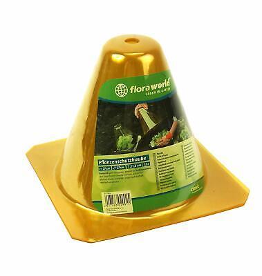 (14,99€/1stk) 12 Stück Pflanzhut Classic L 27 X B 27 X H 21,5 Cm Pflanzenschutzh Dauerhafte Modellierung