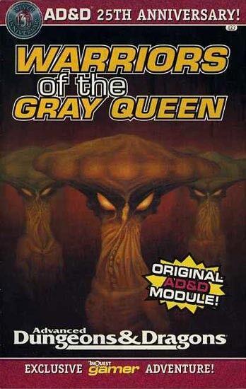 IQ3 guerreros de la reina gris Exc + participantes D&D Dungeons Dragons  módulo TSR