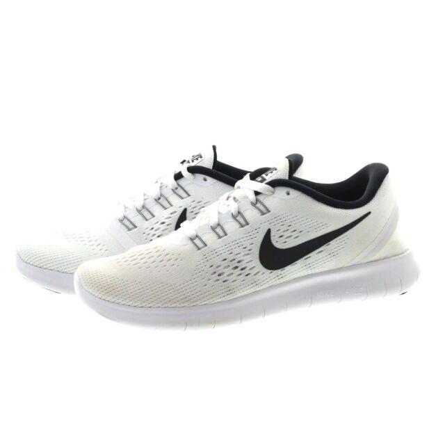 best website 3f82d 1889a Women s Nike RN Shoes Size 10 White Black 831509 100 for sale online ...