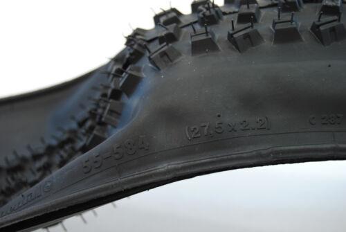 "Continental Mountain King RS Black Chili 27.5 X 2.2/"" Folding Mountain Bike Tire"