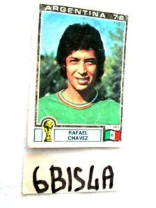 CAMPIONATO DEL MONDO ARGENTINA 78 FIG. PANINI N°179 RAFAEL CHAVEZ (6BIS4A)