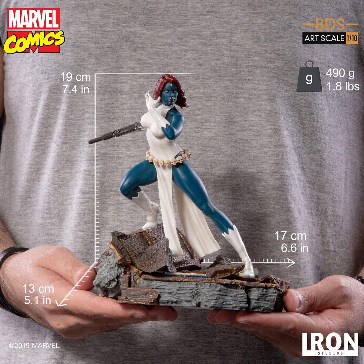 Iron Studios MARCAS17019-10 1 10 Scale Marvel Comic X-Man Mystique Statue Model