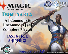 Magic The Gathering Dominaria Complete Playset of Commons