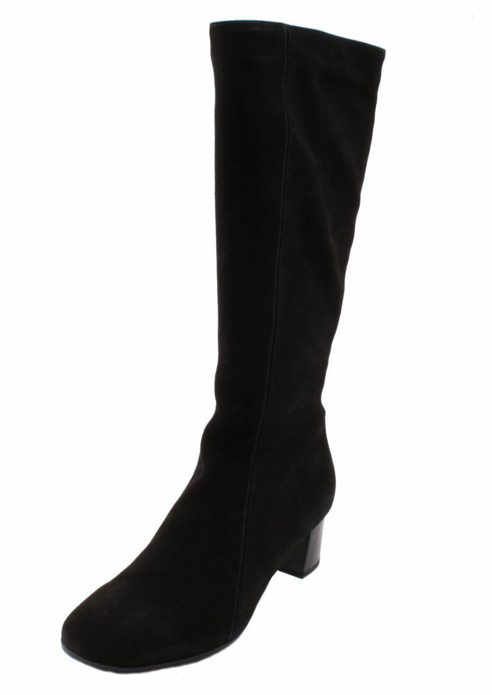 La Canadienne Janice Womens Black Suede Knee High Fashion Boots size 11