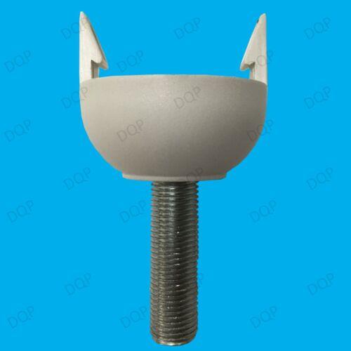 10x M13 40mm x 13mm Allthread Hollow Threaded Rod Tube Electrical Lamp Socket