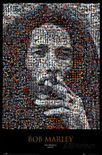 Bob Marley Mosaic Poster Print, 24x36