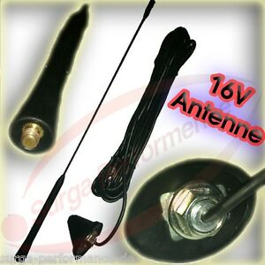Goma Oldtimer auto antena auto antena universal guardabarros//techo antena