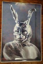 "Donnie Darko 36"" x 24"" Movie Poster Frank the Rabbit Theater Digital Painting"