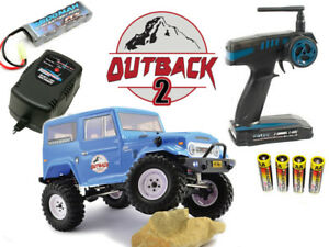 Ftx Outback 2 Tundra 4x4 Rtr 1:10 Sentier Rc Rock Crawler Chargeur Rapide Combo 5056135708361