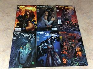 DARKNESS-20-21-22-23-24-25-LOT-OF-6-NM-1999-2000-TOP-COW-IMAGE