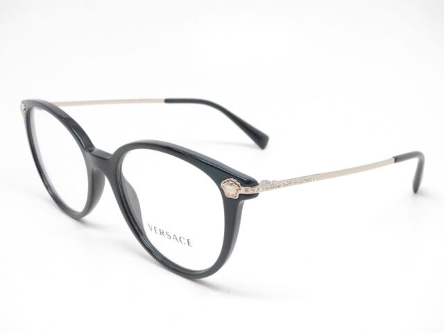 a48d89c05b Versace 3251b Eyeglasses Gb1 Black 100 Authentic for sale online