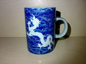 Drachen-Drache-Drachen-Lord-Mug-Kaffee-Tee-Tasse-Porzellan-Dragon-0-35-l-China