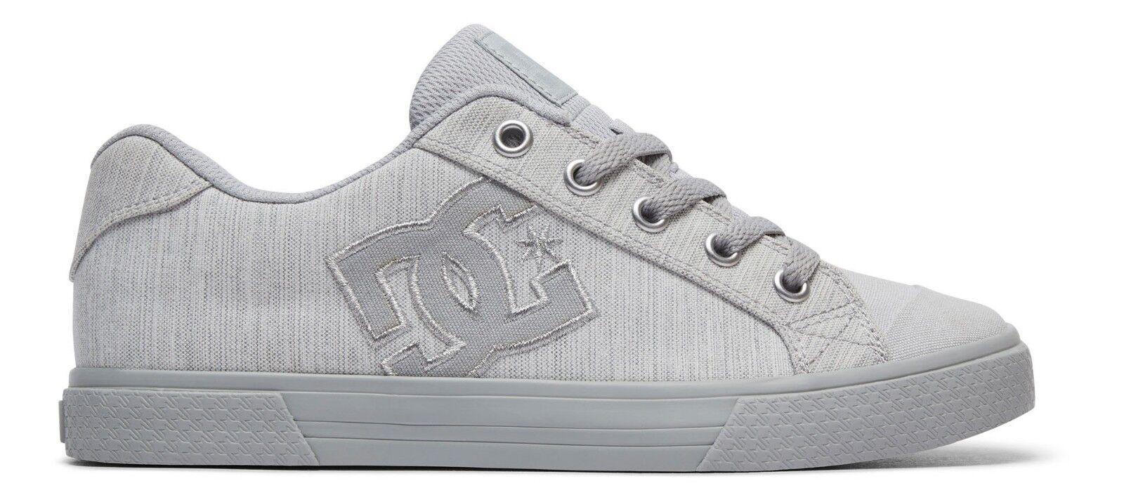 DC Womens Schuhe CHELSEA TX SE  - grey grey Canvas grey (xsss)  - Canvas grey - Gr.: 37- 42 033b36