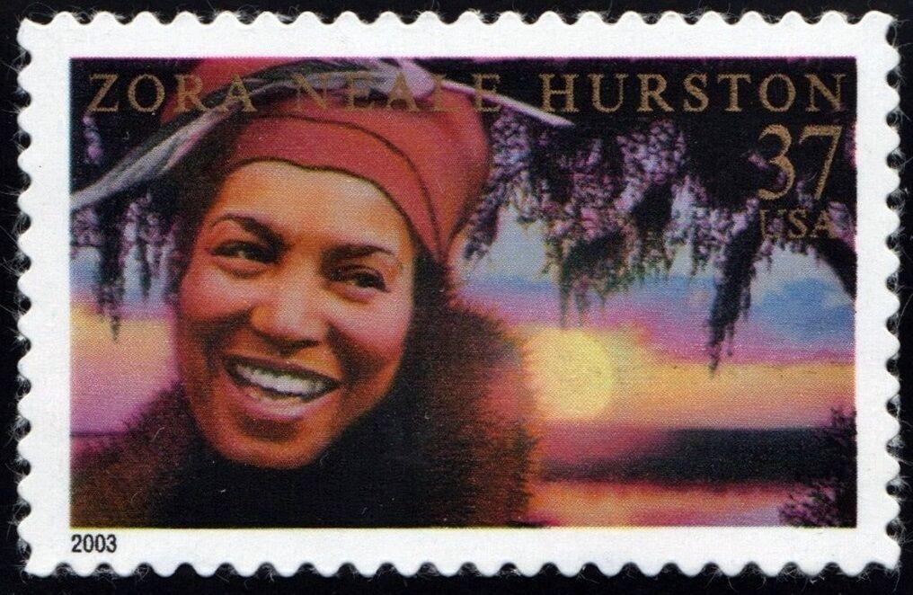 2003 37c Zora Neale Hurston, American Folklorist Scott