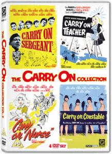 Carry-On-Volume-1-DVD-2008-William-Hartnell-Thomas-DIR-cert-PG-4-discs