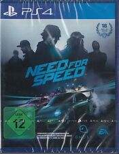 Need FOR SPEED PER SONY PLAYSTATION 4/ps4 NUOVO & OVP versione tedesca