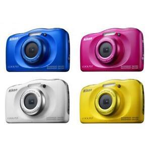 """Nikon Coolpix W100 13.2mp 2.7"""" Waterproof Digital Camera Brand New Jeptall"""