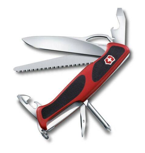 VICTORINOX Taschenwerkzeug Taschenmesser RangerGrip 78 rot//schwarz 0.9663.MC