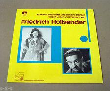 Blandine Ebinger & Friedrich Hollaender - Singen Chansons & Lieder Lp Tele Sound