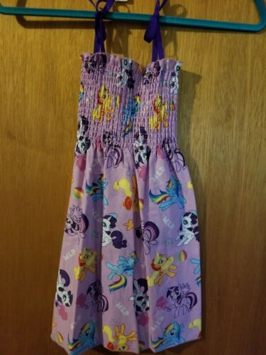 Kid Smock Sun Dress Up Costume Disney Hello Kitty Ponies Frozen Minnie Belle