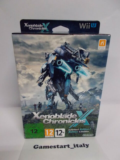 XENOBLADE CHRONICLES X LIMITED EDITION (NINTENDO WII U WIIU) NEW PAL VERSION