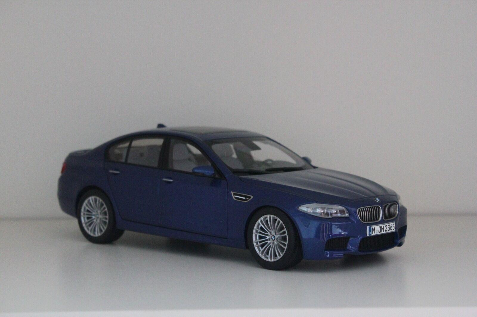 Paragon BMW M5 F10 Monte Carlo blu 80432186352 1:18 Dealer Edition