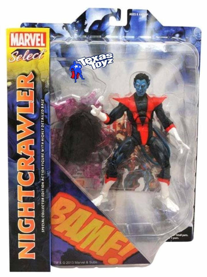 Marvel Select X-Men Nightcrawler 7in Action Figure Diamond Select Toys