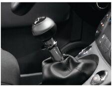 Color : As Show 5 Speed Car Chrome Gear Shift Knob for Fiat 500 2012 2013 2014 2015 2016 2017 2018 Auto Lever Shifter Stick Handball