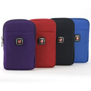 """XL Men Women Running Travel Sport fanny pack waist bag for 5.5/"""" cellphone case"""