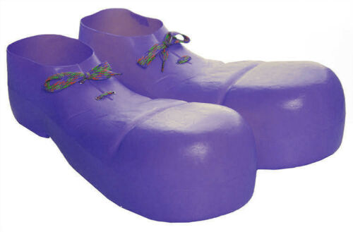 Plastic Adult Clown Shoes