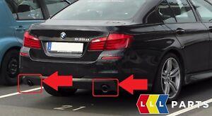 BMW-NEW-GENUINE-5-6-F10-F11-F07-F12-F13-F06-EXHAUST-PIPE-TIP-BLACK-PAIR-SET