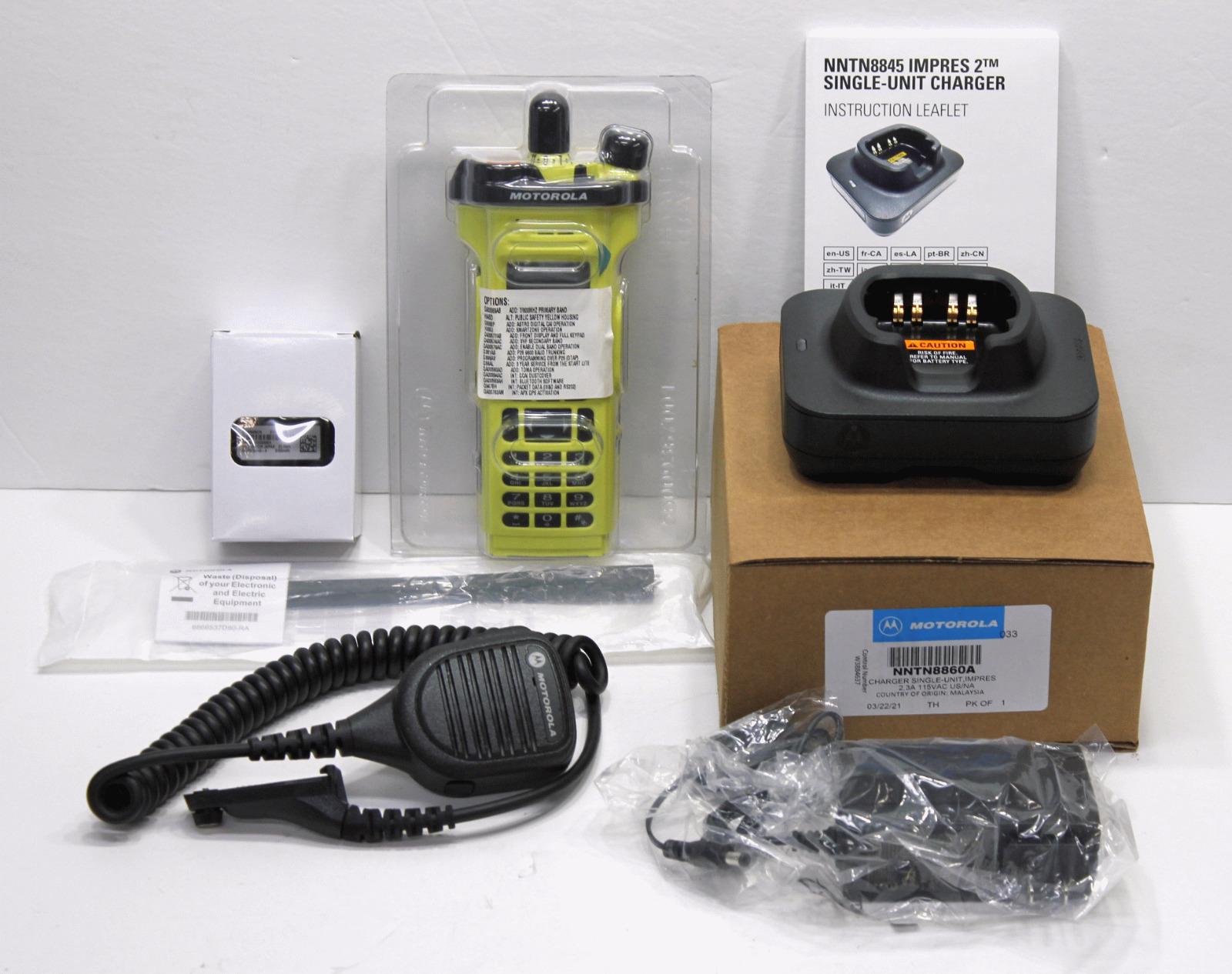 New NEW IN BOX MOTOROLA APX7000XE APX 700/800 VHF 136-174 MHZ DIGITAL RADIO P25 TDMA.
