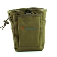 Army Green Utility Military Tactical Molle Pouch Bag for Outdoor Camping Hiking