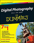 Digital Photography All-in-One Desk Reference For Dummies by David D. Busch (Paperback, 2008)