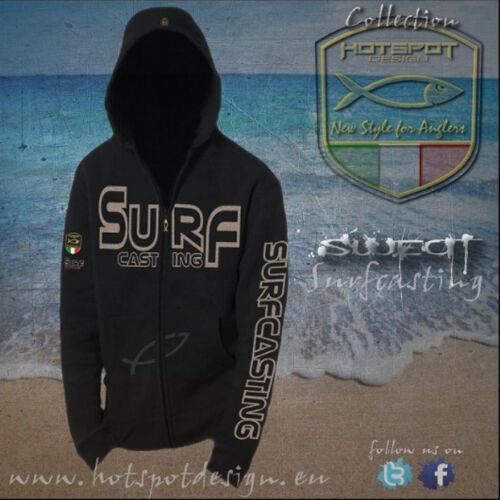 Hoody Kapuzensweater Hotspot Design Sweat Surf Casting
