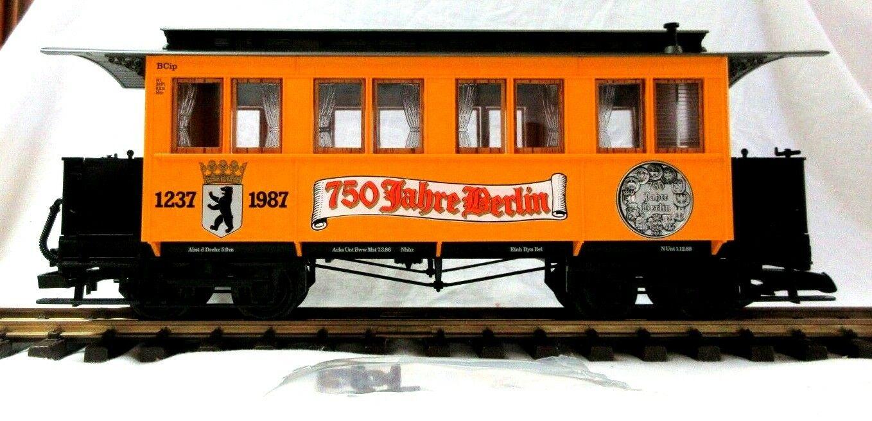 LGB 3060 B 750 JAHRE BERLIN 1237-1987 ANNIVERSARY PASSENGER auto