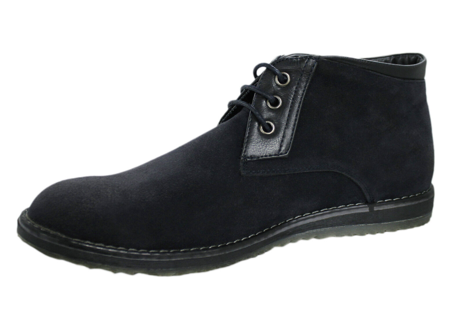 SHOES DESERT WINTER BOOTS MAN CASUAL BLACK WINTER DESERT SUEDE number 40 41 42 43 44 45 941c59