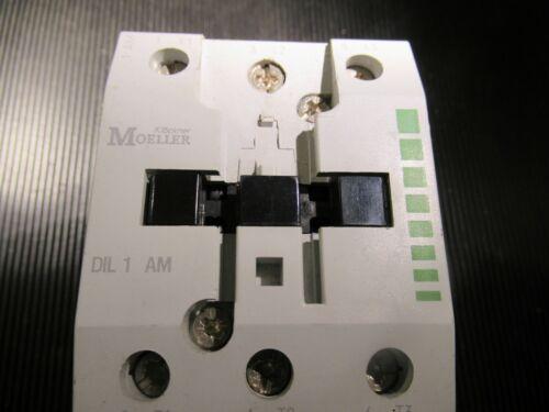 DIL1AM 690VAC 22KW 55A CONTACTOR 220V KLOCKNER MOELLER ID16716