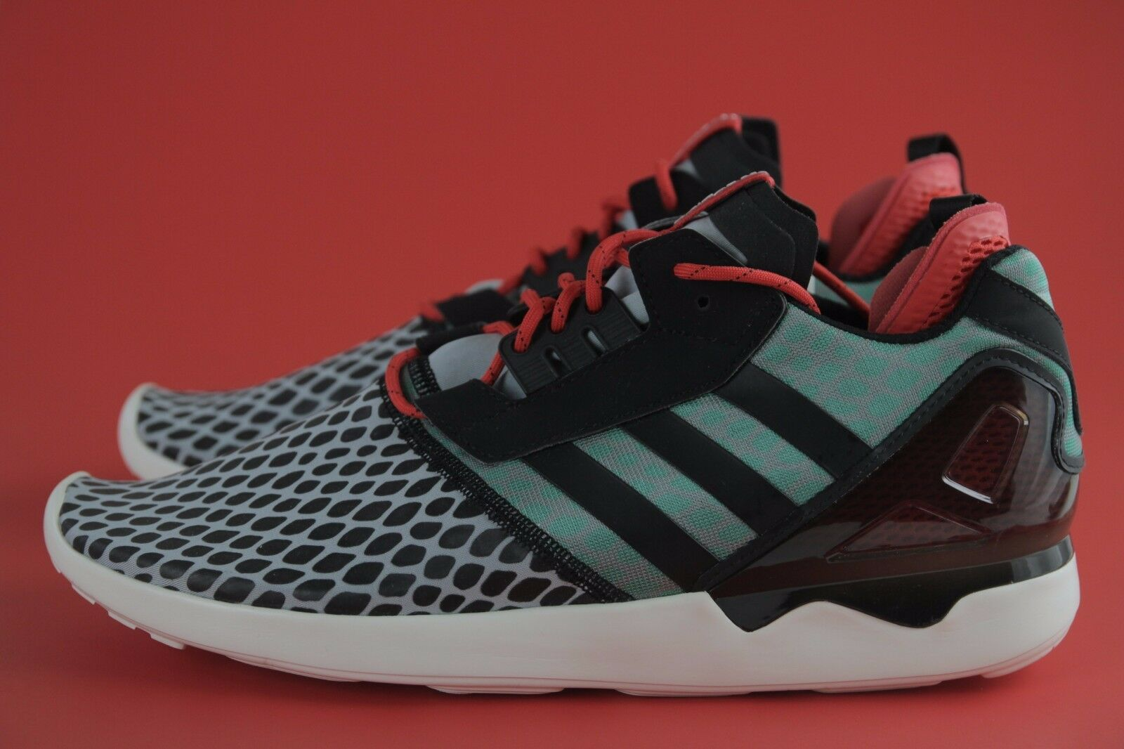 SALE  LAST PAIR ADIDAS B24953 Nuovi ORIGINALI ZX 8000 BOOST BLK  RD  GRN Sz 13 ANB  outlet in vendita