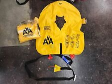 American Airlines Airplane Aircraft Life Jacket Vests Aviation Self Inflating