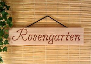 Holz Dekoschild Für Garten Fettiges Essen Zu Verdauen 51 Cm Massiv Groß Haus Um Zu Helfen Terrasse Rosengarten