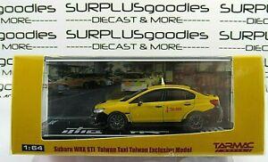 Tarmac-Works-1-64-2019-Hobby64-Taiwan-Exclusive-SUBARU-WRX-STi-Taxi-Cab-1of-1296