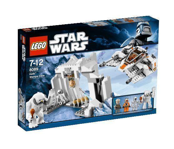 LEGO StarWars Hoth Wampa Cave (8089)